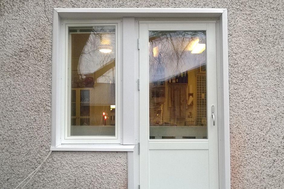 Uudet ovet ja ikkunat