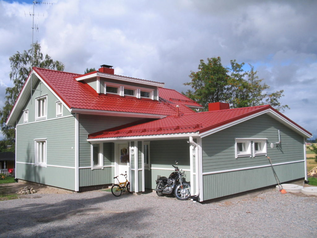 maalattu talo